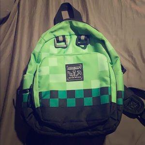 Mini Minecraft backpack